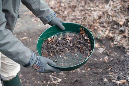 Geschikt Voor Het Zeven Van Grond En Compost Composteren Composter Compost