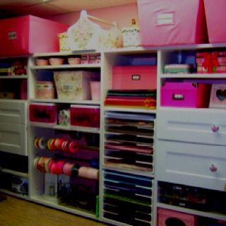 Hobby Room Storage Ideas