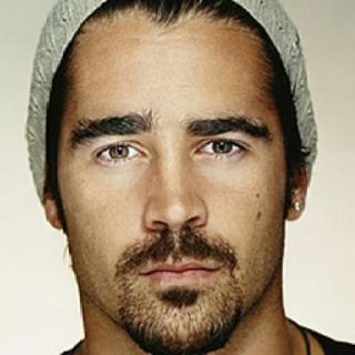 Collin Farrel, so freakishly good looking, even with two ...