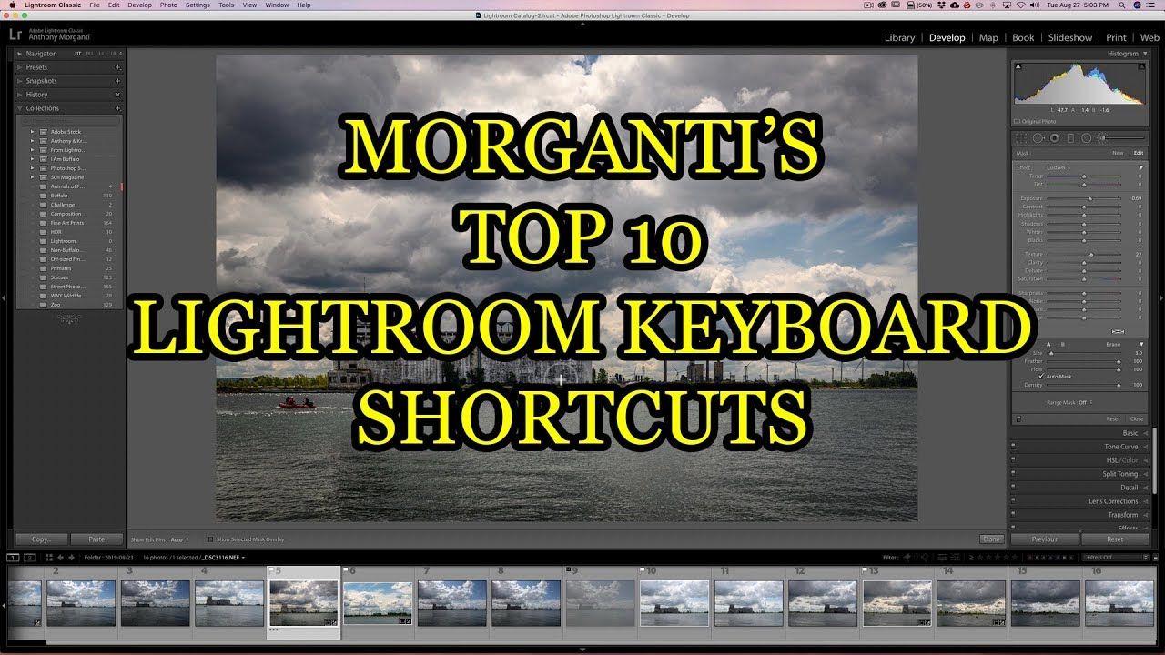 Lightroom classic cc keyboard shortcuts