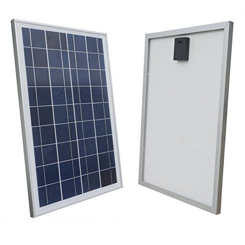 Eco Worthy 20w 12 Volt Polycrystalline Solar Panel Module Off Grid Battery Charging Rv Boat Solar Panels Diy Solar Power System 12v Solar Panel