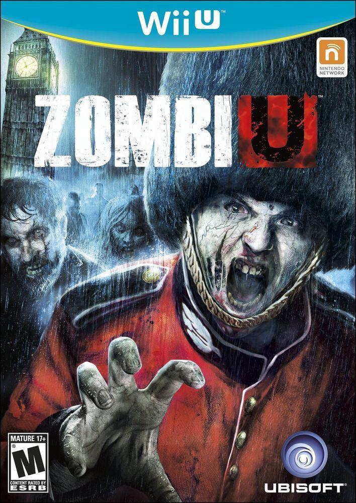 Zombiu Zombi U For Nintendo Wii U System Brand New Factory Sealed