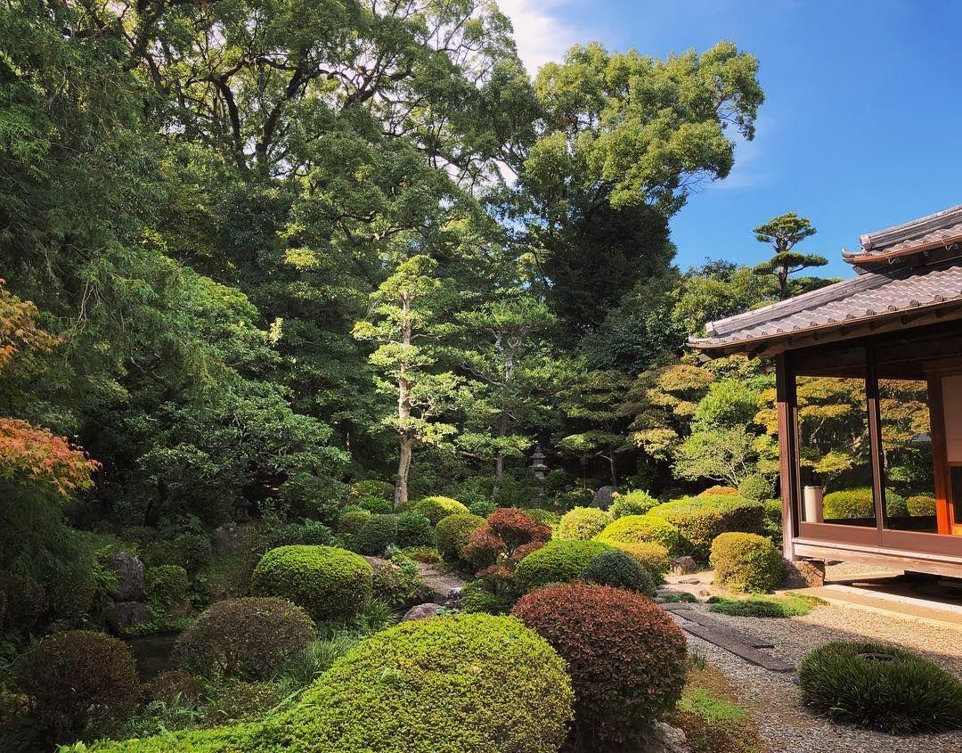 護国寺庭園 Gokoku Ji Temple Garden Shimabara Nagasaki 日本庭園 庭 寺町