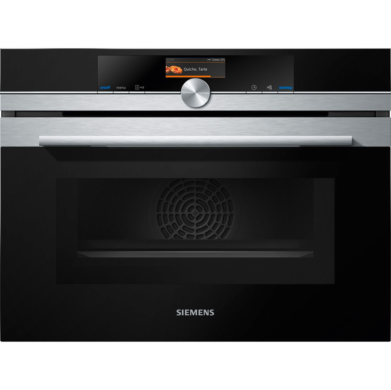 Built in compact oven with microwave