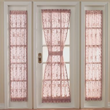 Jcp Home Shari Lace Door And Sidelight Panel Jcpenney Like The
