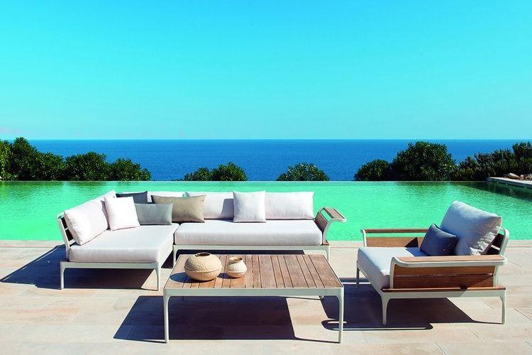 Salon de jardin Meridien chez Ethimo | beach house | Pinterest ...