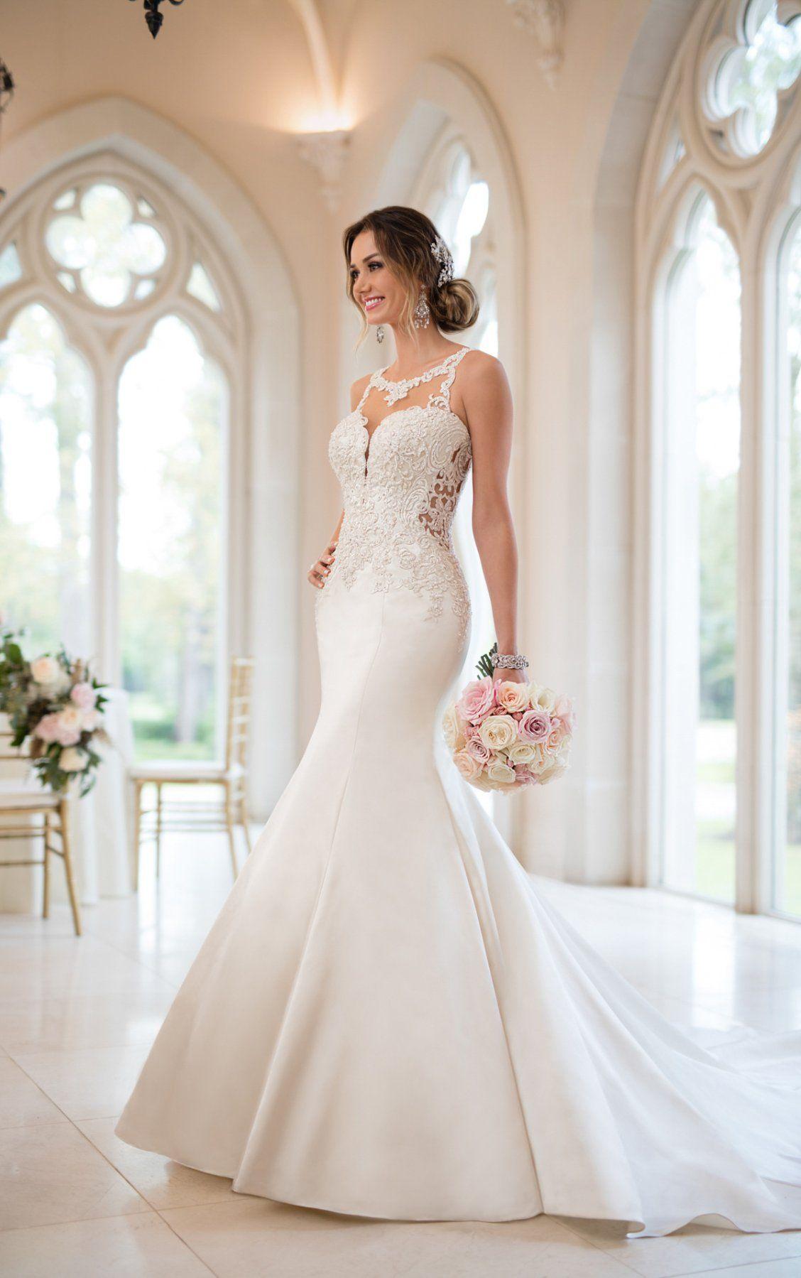 Mermaid Wedding Dresses Beaded Mermaid Wedding Gown Stella York Wedding Gowns Mermaid Wedding Dresses Beaded Wedding Dresses
