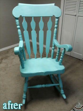 Refinish Rocking Chair