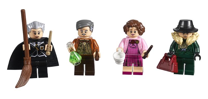 Bricklink Set 5005254 1 Lego Minifigure Collection Bricktober 2018 1 4 Harry Potter Collectible Minifigures Ha Lego Hogwarts Lego Harry Potter Hogwarts