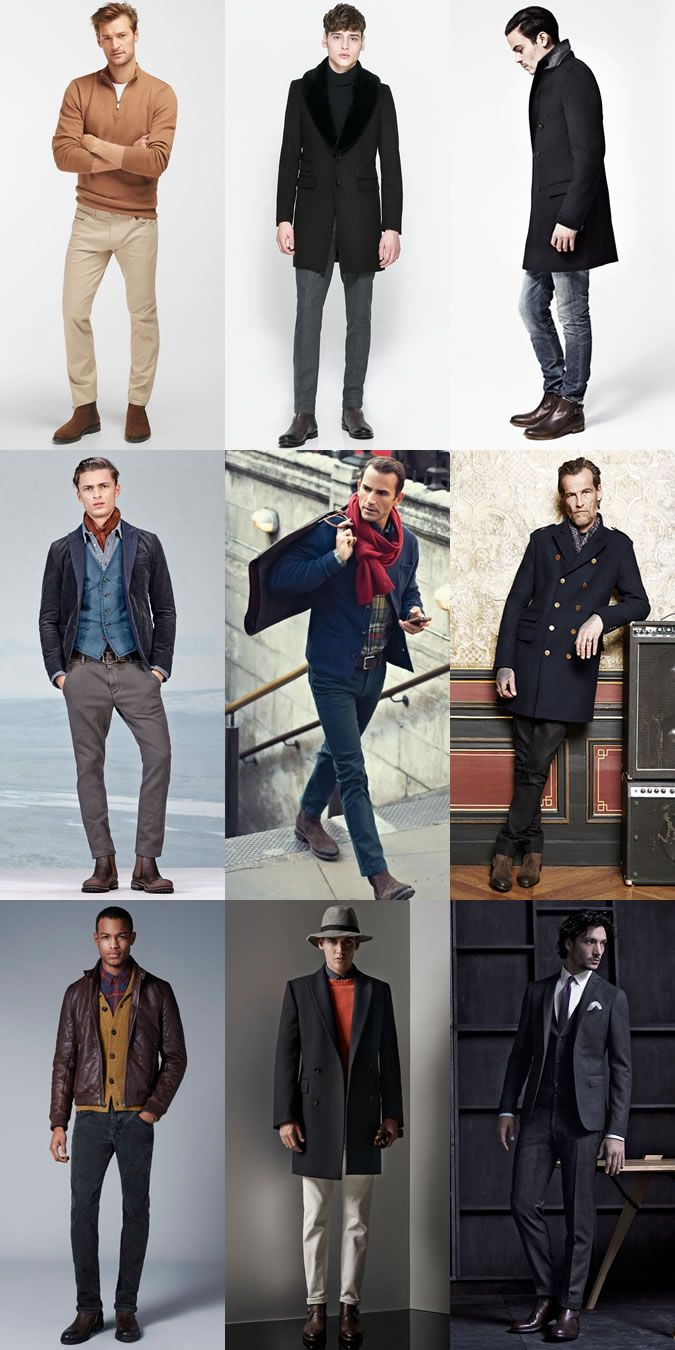 Men S Brown Leather Chelsea Boots Outfit Inspiration Lookbook Chelsea Boots Outfit Brown Leather Chelsea Boots Brown Chelsea Boots Outfit