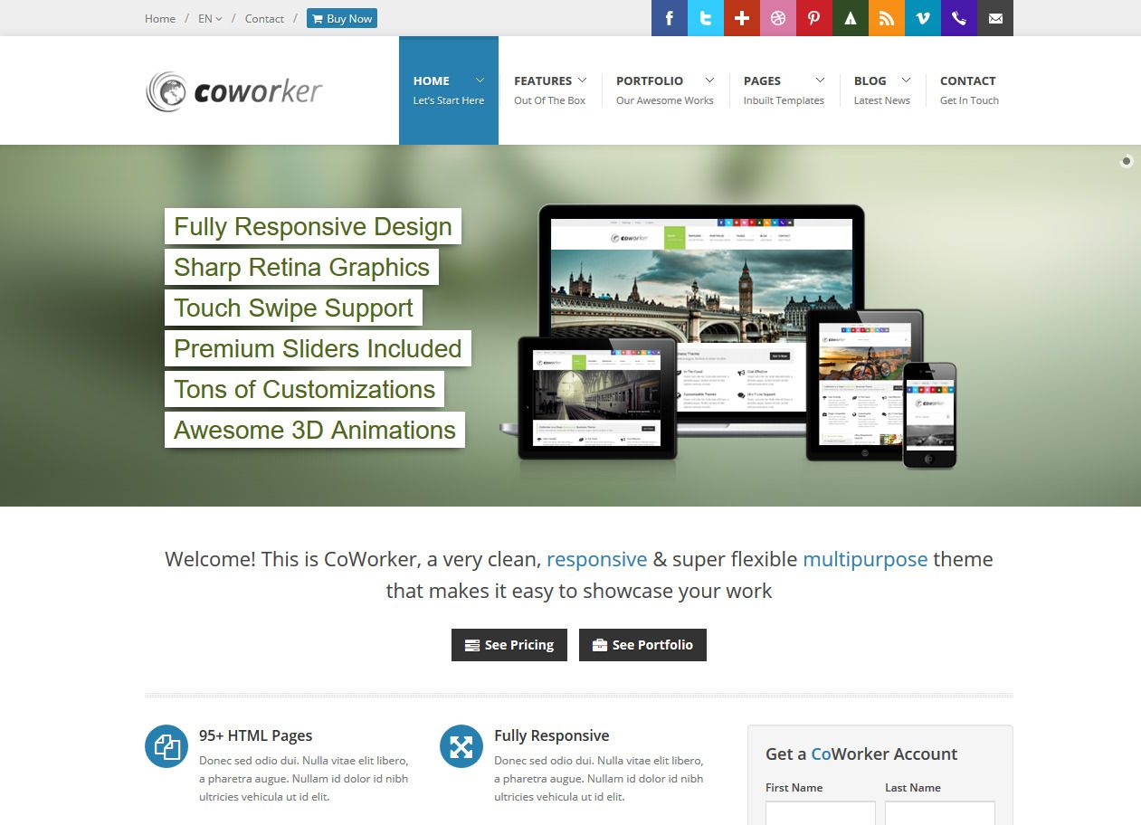 Bootstrap Is A Free And Open Source Front End Web Framework For Designing Websites And Web Applications It Contains Templates Website Template Html5 Templates
