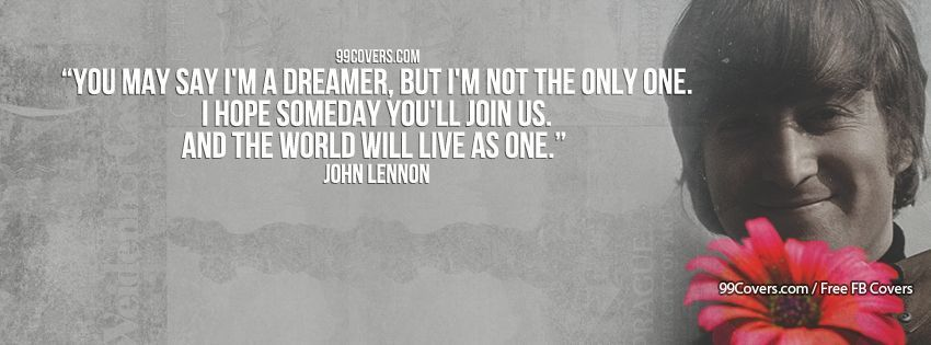 Love Life Fb Banner Awesome Facebook Cover Photos John Lennon Banners Posters