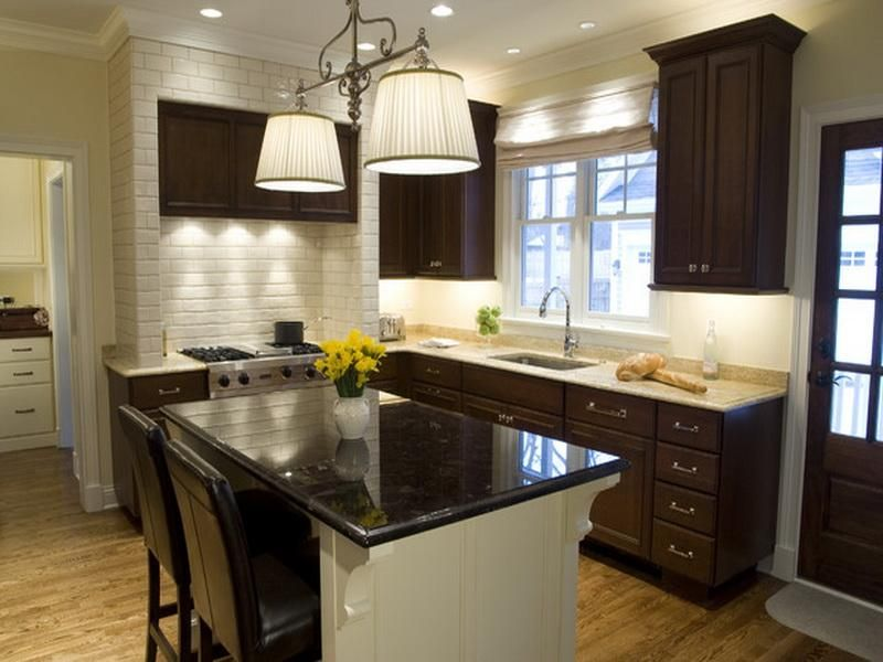 Best Paint Color For Kitchen With Dark Cabinets Kitchen Design