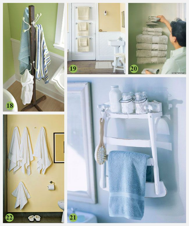 creative bathroom storage ideas home remodeling ideas. Black Bedroom Furniture Sets. Home Design Ideas