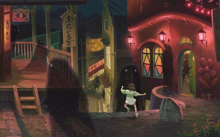 Studio Ghibli Spirited Away Hd Wallpaper Desktop Background Studio Ghibli Studio Ghibli Spirited Away Ghibli