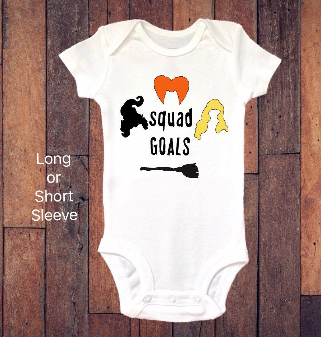 e0540c213 Excited to share this item from my #etsy shop: Baby Onesie ®, Halloween  Onesie ®, Hocus Pocus, Baby Girl, Baby Clothing