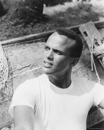 Mr. Day-O himself! Never realized how handsome he was. Harry Belafonte