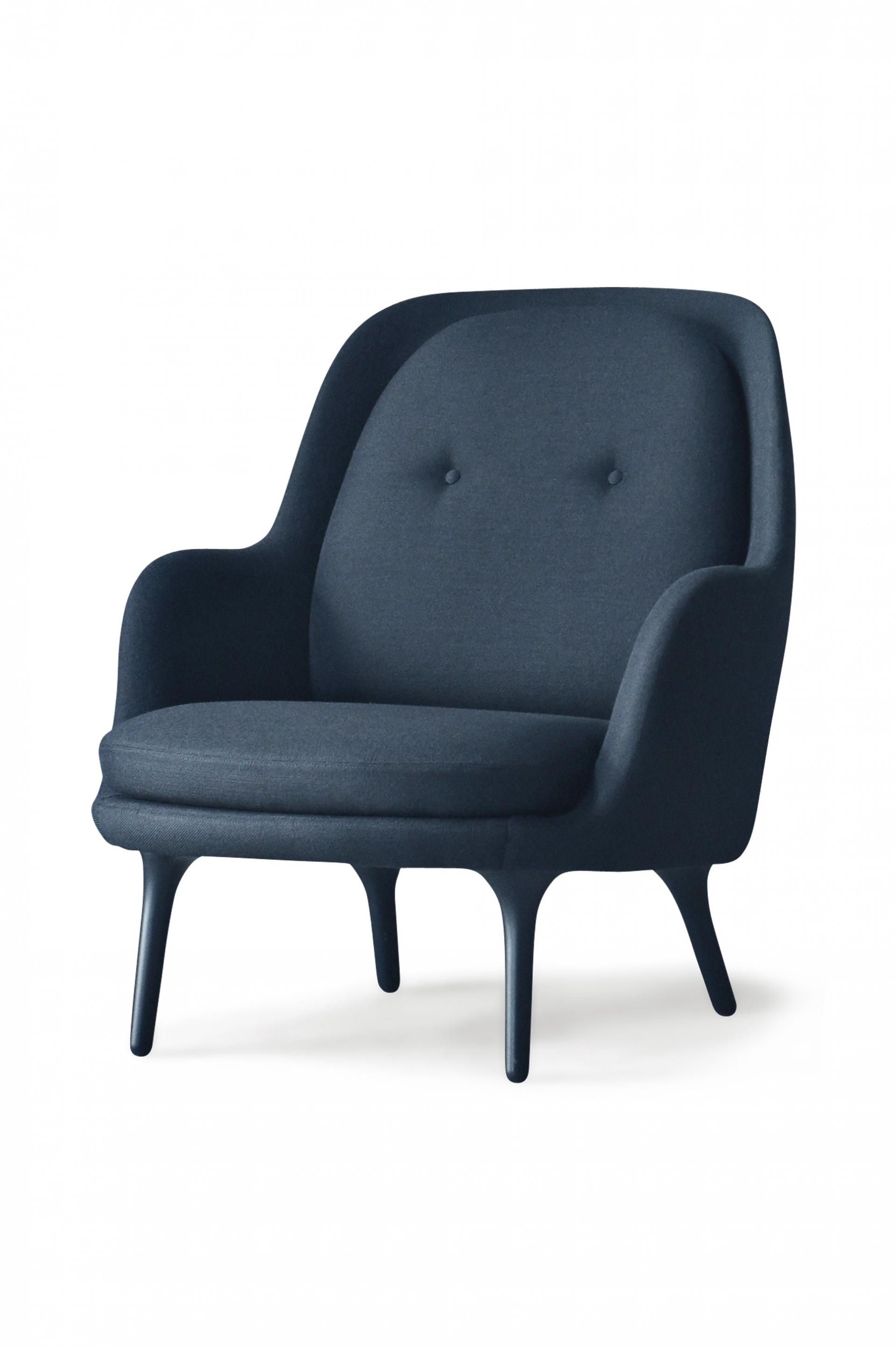 Fritz hansen fri armchair product furnishings for Modern design lounge chairs