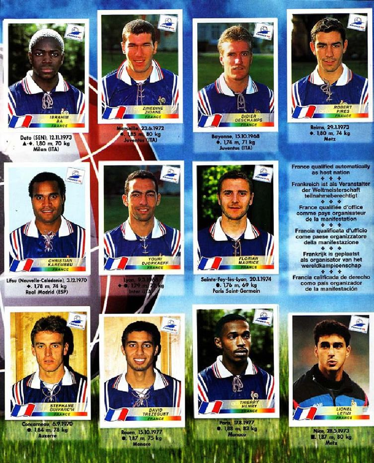 Fifa world cup 98 sticker album billy clifford fifa 18