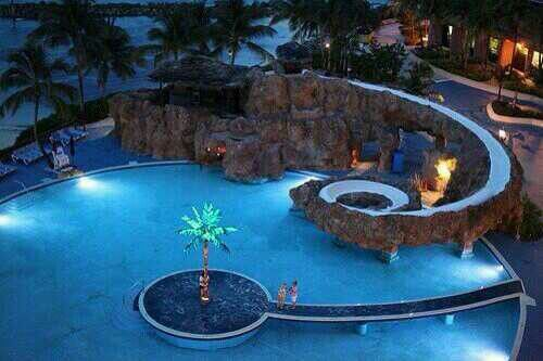 cool houses with pools and slides google search - Cool Pools With Waterfalls In Houses