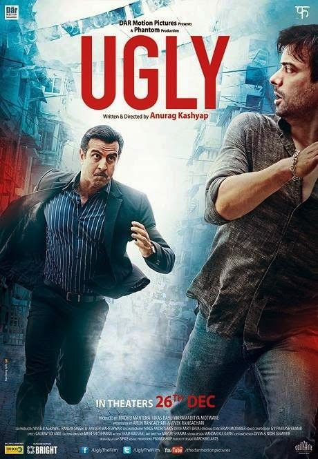 Ugly (2014) DVDRip Full Hindi Movie Free Download http://alldownloads4u.