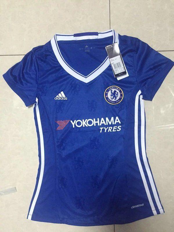 62d7f06ae8b Chelsea Women Home Soccer Jersey