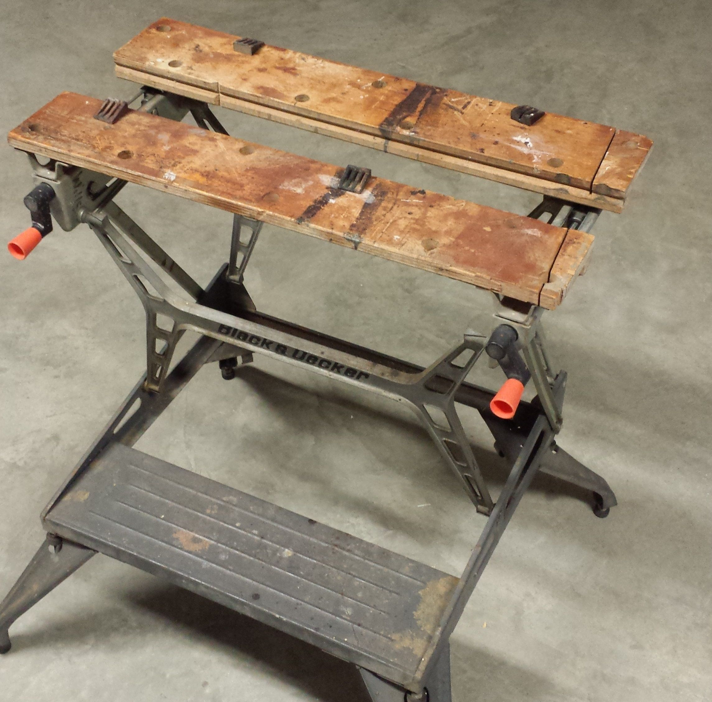 My Vintage Black And Decker Workmate 625 With The
