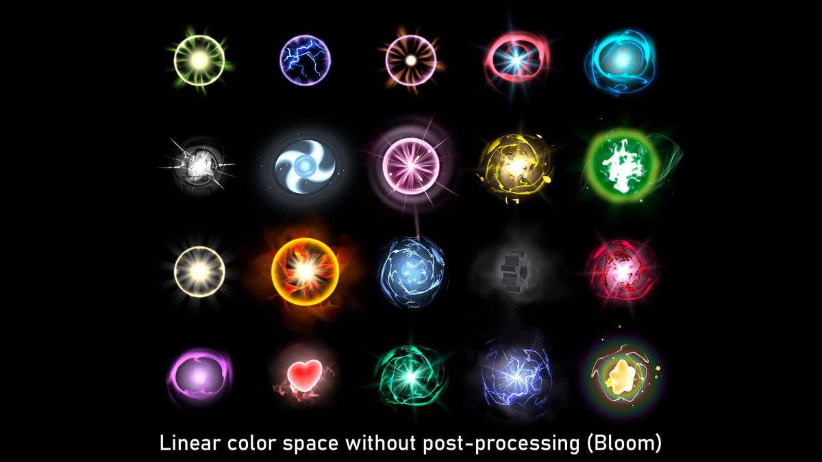 Glowing Orbs Pack Vol 4 Spells Unity Asset Store Glow Orb Magic Art