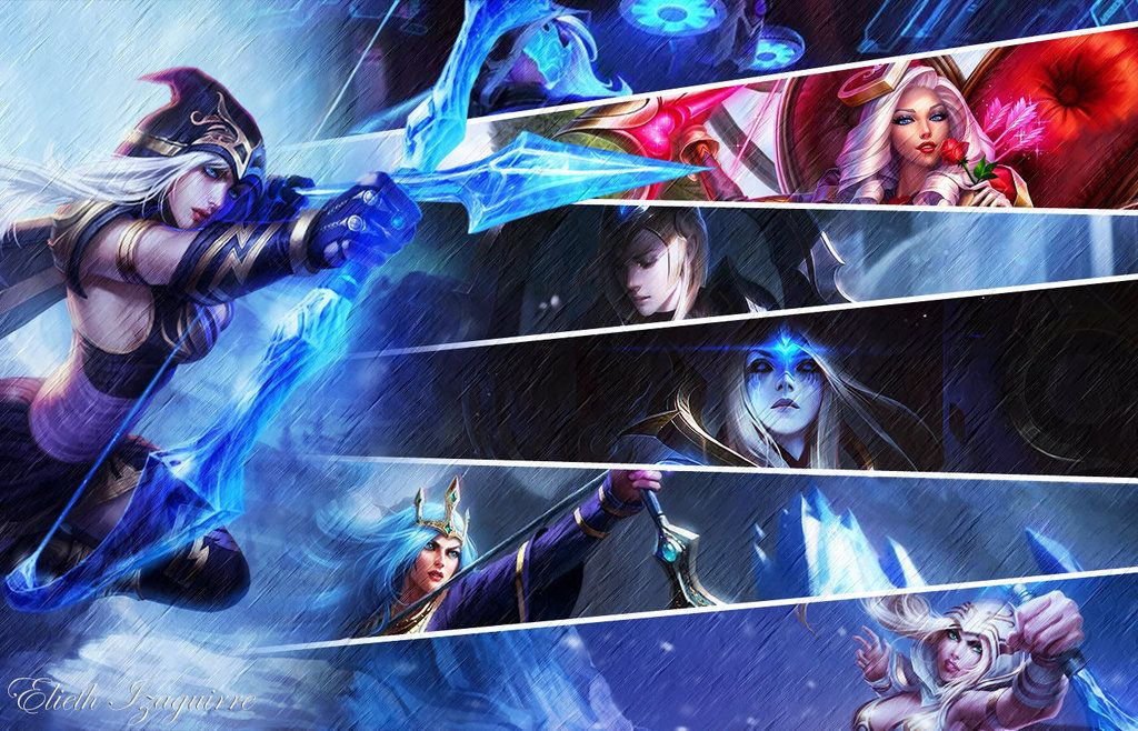 Ashe Lol Wallpaper By Katherineizaguirre Ashe League Of