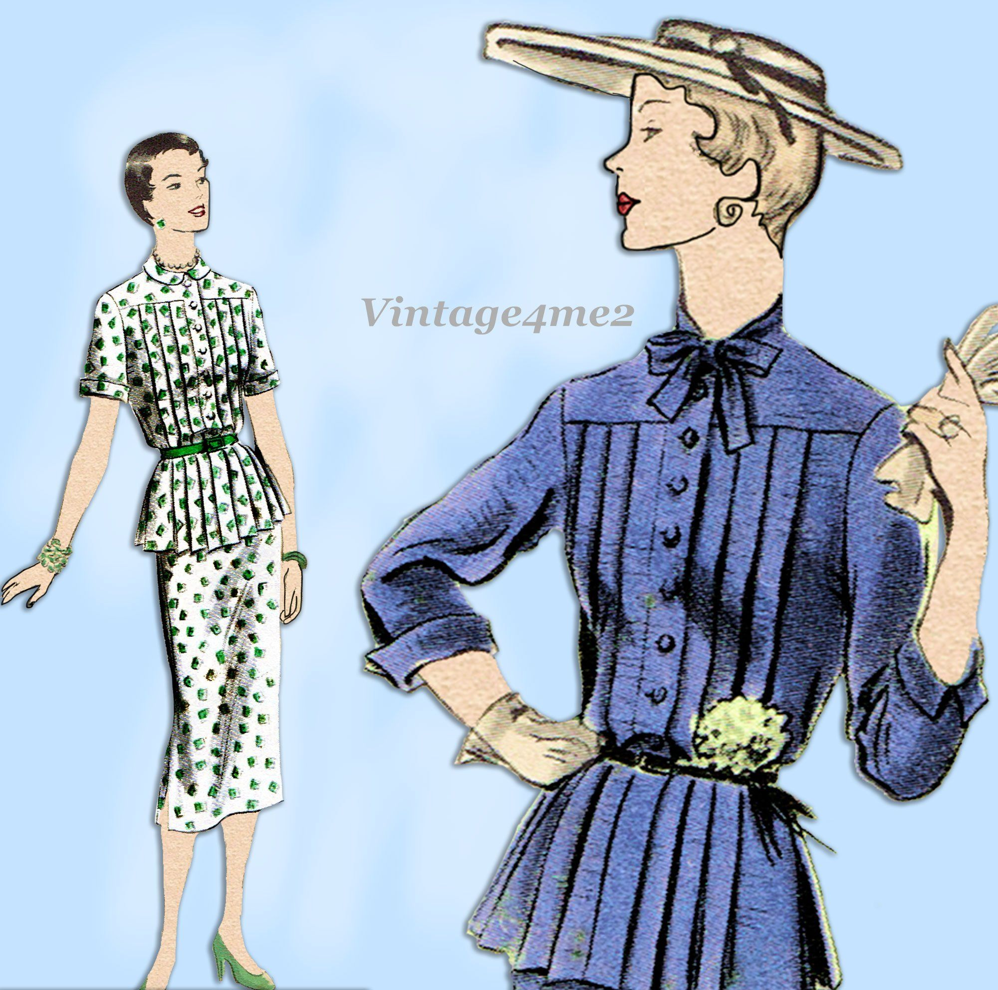 Vogue 7067 Misses/' Jacket Top Skirt and Pants    Sewing Pattern