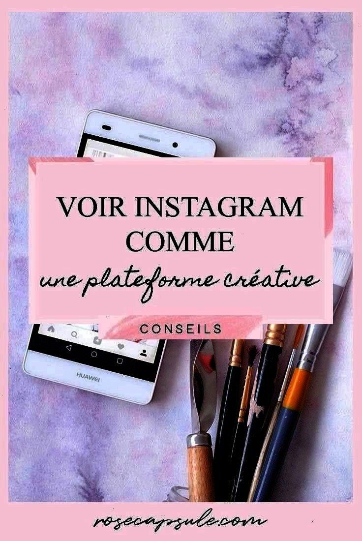 Rose Capsule Voir Instagram comme une plateforme créative Voir Instagram comme une plateforme créative  three purposes pour améliorer ton feed Instag...