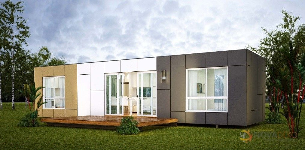 Dise o de casas con contenedores construcci n for Diseno de oficinas con contenedores