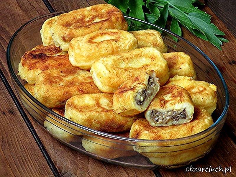 Farszynki Babci #ziemniaki #pieczarki #cebula  #vegetariańskie