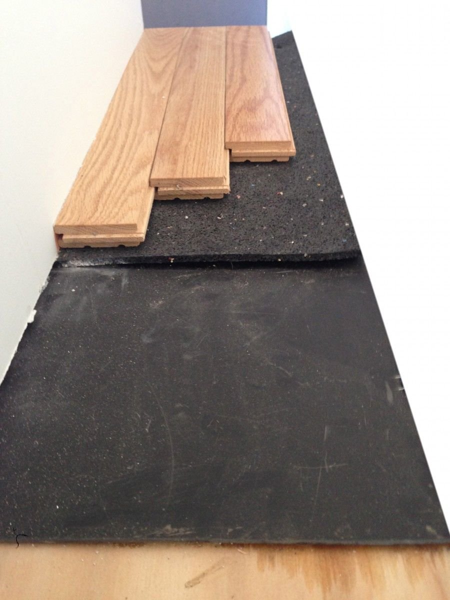 Hardwood Floor Noise Insulation With