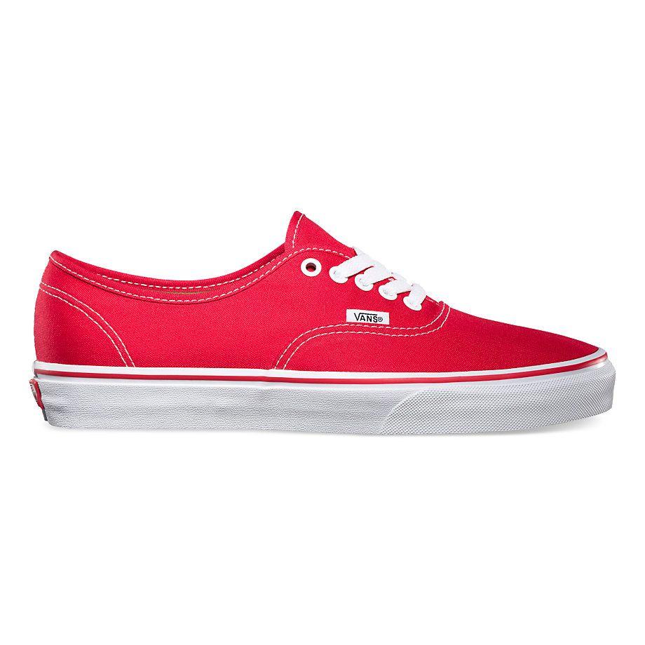 Vans Zapatos Zapatos rojas