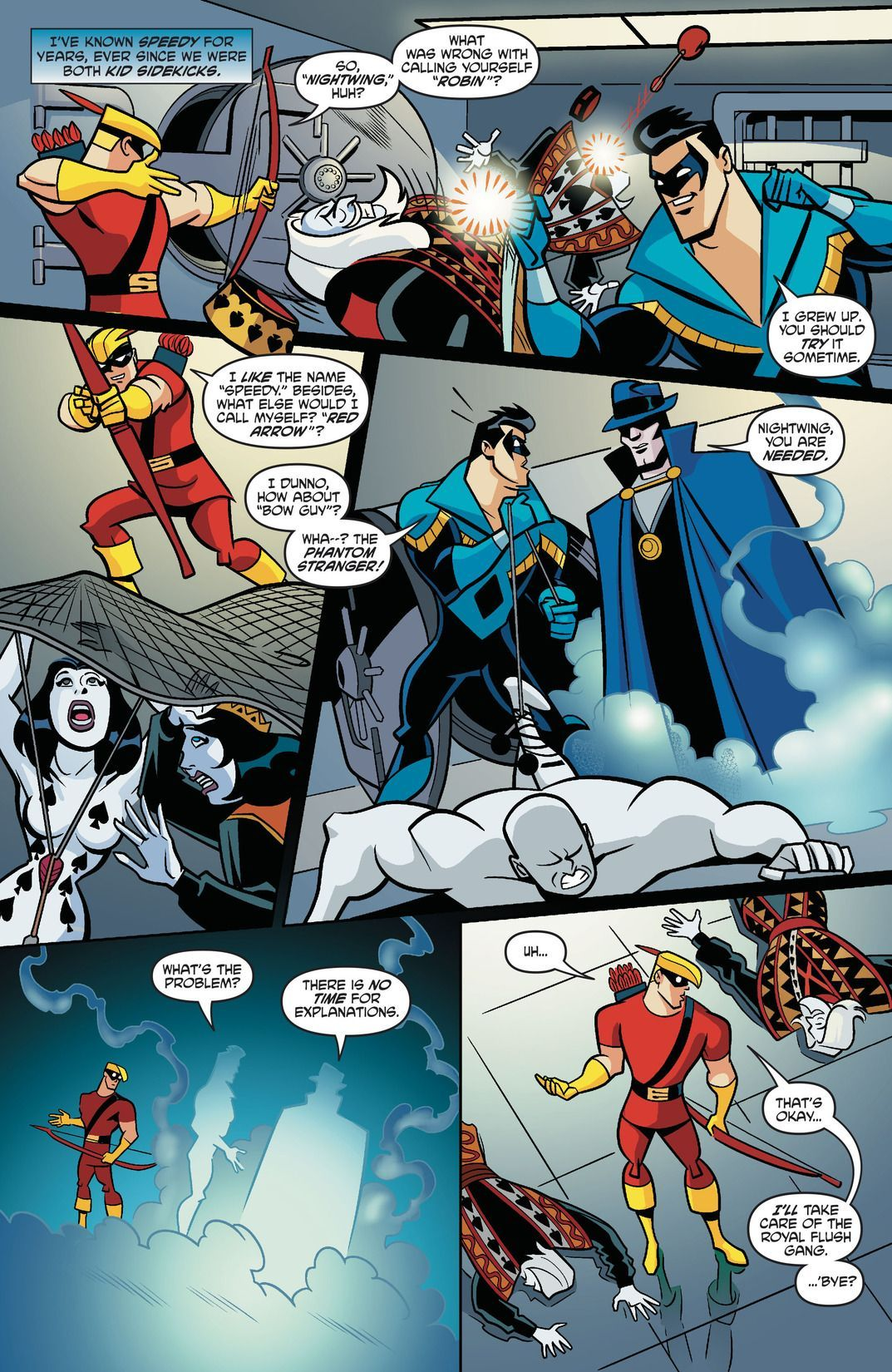 The All New Batman The Brave And The Bold Small Miracles With