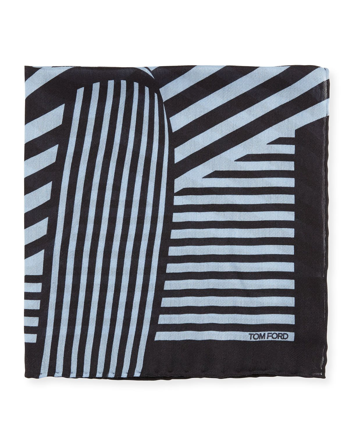 Wide-Stripe Pocket Square