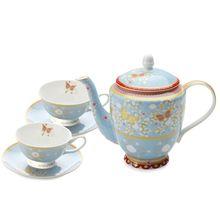 Maxwell & Williams Cashmere Enchante Jacqueline 5 Piece Tea Set Gift Boxed