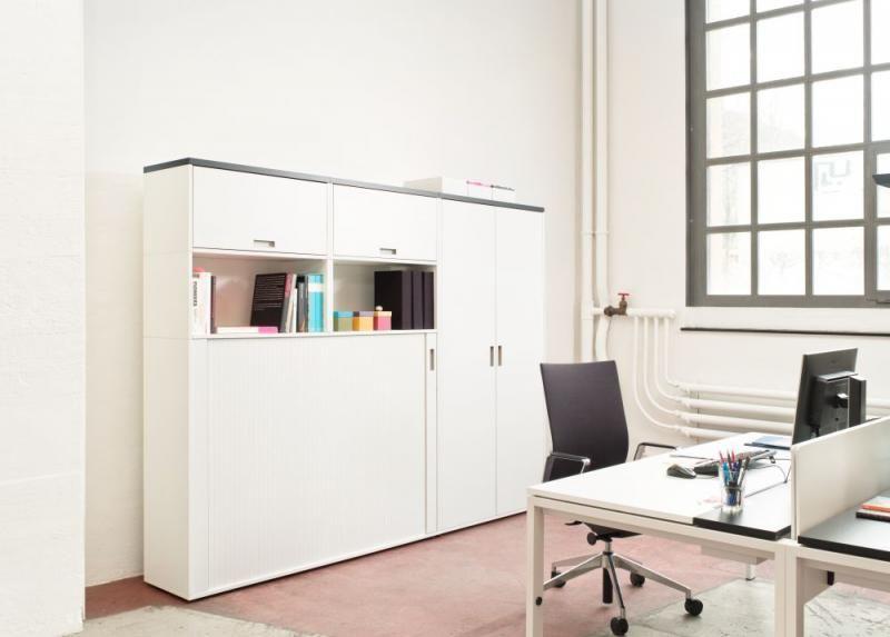 D1 - Hochschrank Büromöbel Büro Klassiker   Büro Designklassiker ...