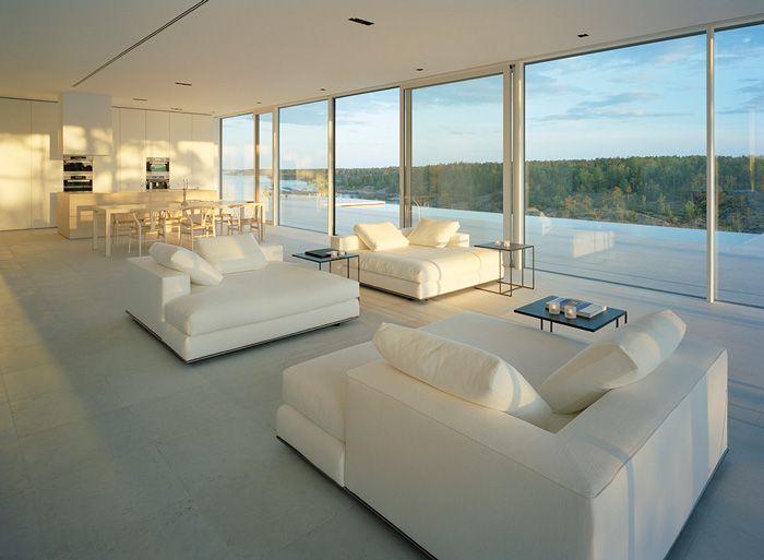 Maison Du Lac Moderne Par John Robert Nilsson
