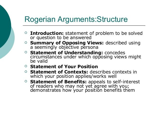 Image Result For Rogerian Argument Outline  Visual Argument  Essay  Image Result For Rogerian Argument Outline
