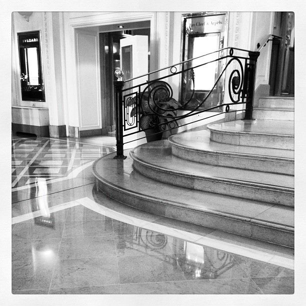 Lobby and stairs : Photo by mia_dolce_vita • Instagram