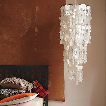 Fakin it pinterest cheap chandelier wax and chandeliers capiz shell chandelier greentooth Images