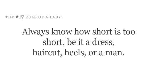 Ladies!!