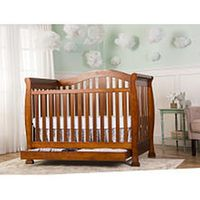 Dream On Me Addison 4 In 1 Convertible Crib With Storage Espresso Convertible Crib Cribs Baby Cribs