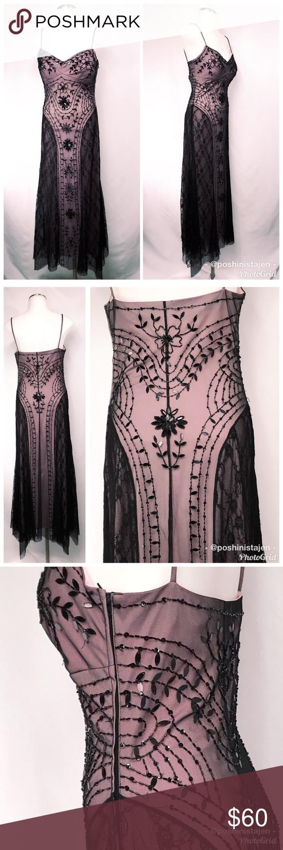 masquerade black u pink prom gown sz masquerade dresses