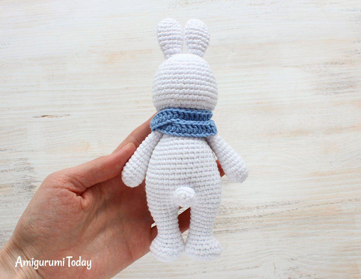 Cuddle Me Bunny amigurumi pattern - free   conejos amigurumis ...