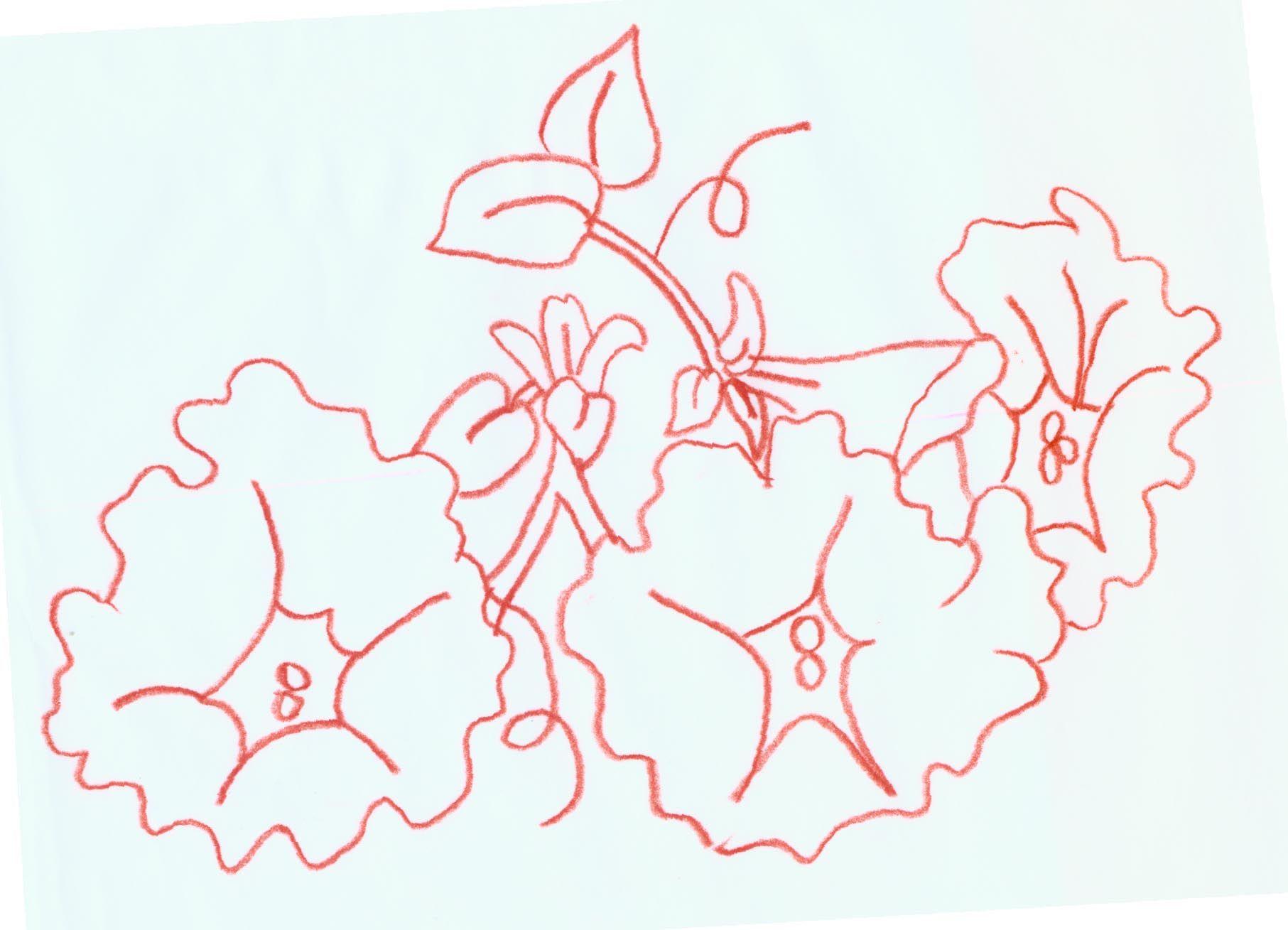 Patternsphotos Into Patterns Hand Cut Silhouttes Redwork