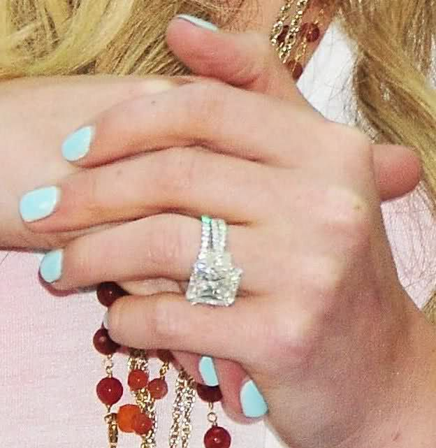 Celebrity Engagement Rings Stacked 43 celebrity bling Pinterest