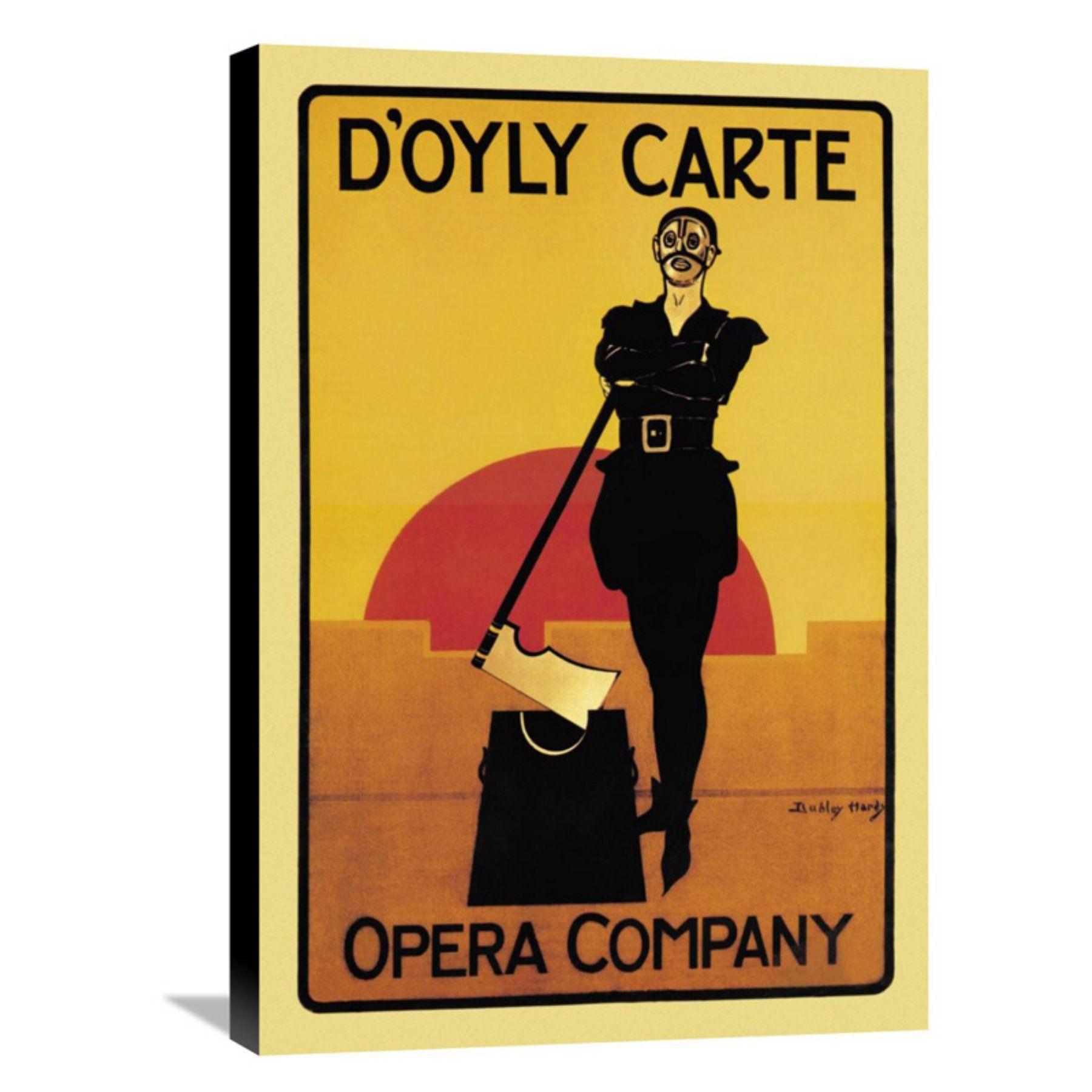 Global Gallery The Executioner: DOyly Carte Opera Company Wall Art ...